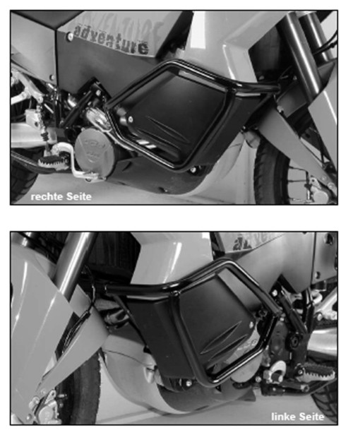 Hepco-Becker - Tank Guards (KTM 950/990 ADV)