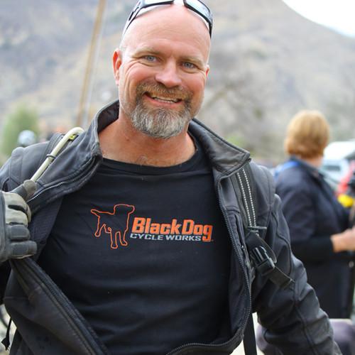 BDCW - Clothing - T-shirts (men -  cotton, black, short-sleeve)