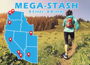 Mega-Stash: Gear Scavenger Hunt - Coming to a City Near You