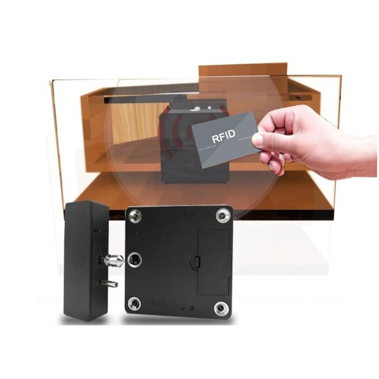 Attrayant RFID Hidden Cabinet Lock AC Power Option, 3 Keys   Gun Safes,Stands,
