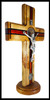 Traditional Trinity St. Benedict Crucifix, 14 inches