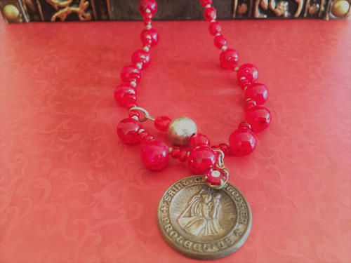 Strength and Victory St. Christopher Necklace