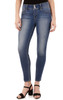 Curvy Skinny Jeans In Pacific