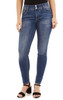 Basic Curvy Skinny Jeans In Pacific