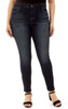 Plus Size Push Up Skinny Jeans In Lake