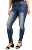 Signature Skinny with Embellished Pockets In Orchid