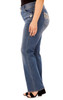 Plus Size Curvy Embellished Bootcut Jeans In Rosemary