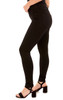 Push Up Curvy Skinny Jeans In Black