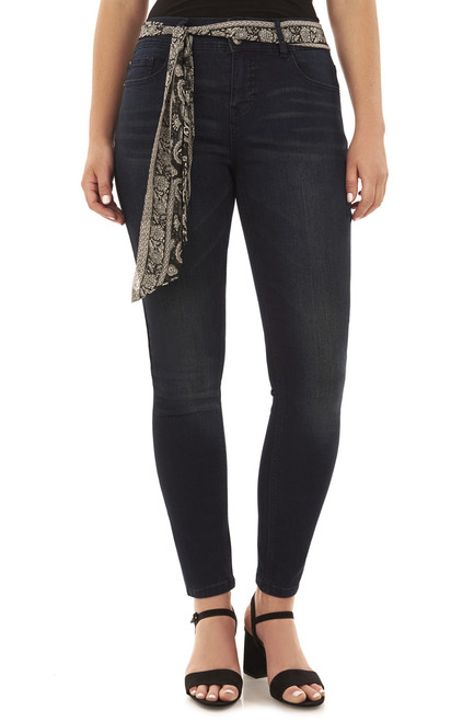 Basic Curvy Skinny Jeans In Aire