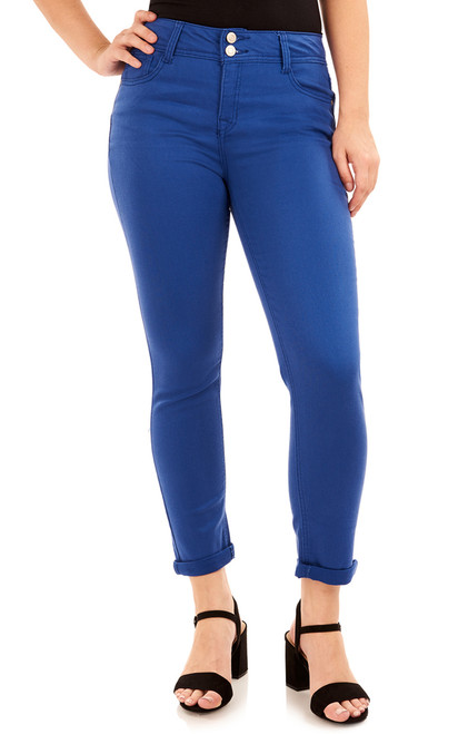 Basic Curvy Convertible In Mazarine Blue