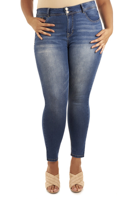 Plus Size Curvy Skinny In Pacific