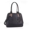Derica Python Embossed Pattern Faux Leather Satchel Shoulder Hand Bag