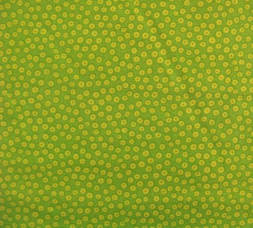 Many Eyes Looking green