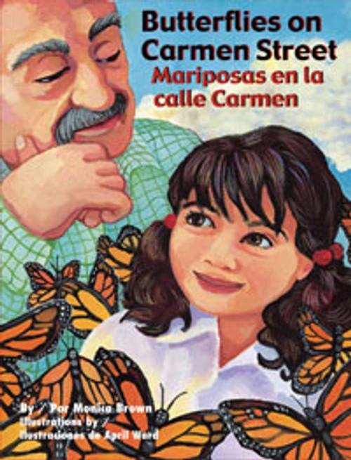 Butterflies on Carmen Street/Mariposas en la calle Carmen (P)