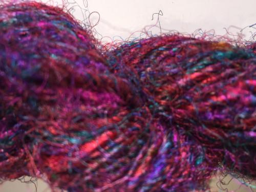 Recycled /silk Yarn