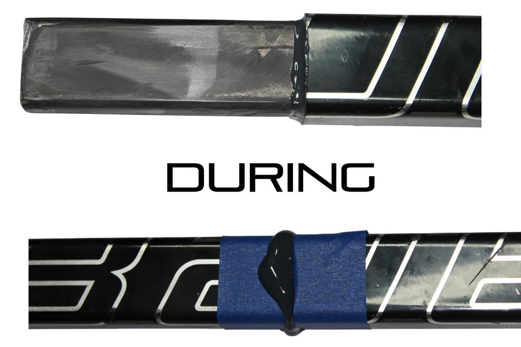 Hockey Stick Repair System - Do-It-Yourself Stick Repair System from Bison Hockey Sticks - During
