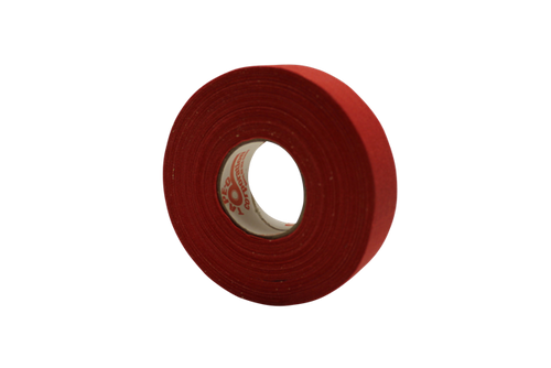 Red Cloth Hockey Tape - Bison Hockey Sticks