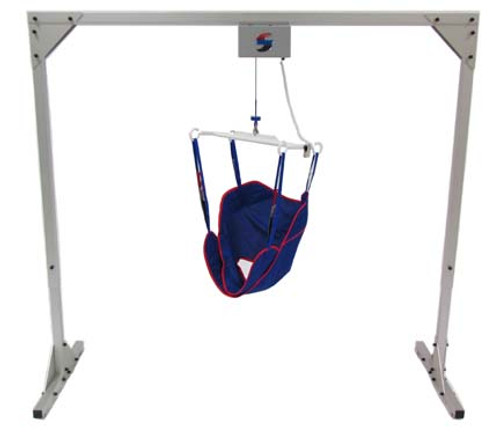 Titan 500 Freestanding Overhead Patient Lift System by Traxx Mobility (Includes Sling)