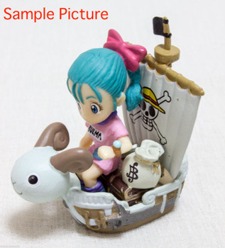 Dragon Ball Z x ONE PIECE Bulma 40th Dream Fusion Mini Figure JAPAN ANIME