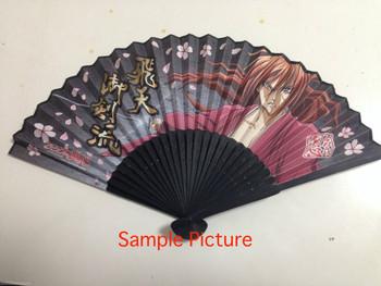 Rurouni Kenshin Folding Fan Japanese Sensu JAPAN ANIME MANGA