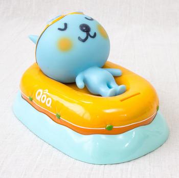 QOO Talking Voice Figure Coin Bank Boat Ver. Coca-Cola Yamazaki Japan Limited