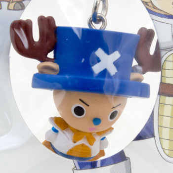 Dragon Ball Z x ONE PIECE Chopper Man x Vegeta Figure Strap JAPAN ANIME