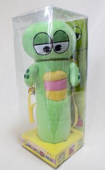 Ponkikki Gachapin Figure Folding Umbrella JAPAN ANIME