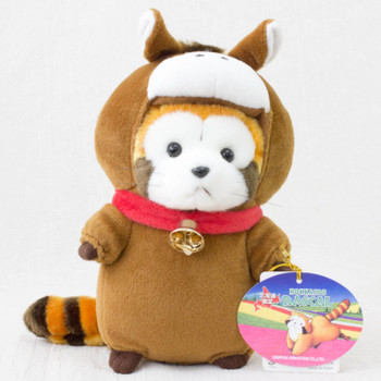 Rascal the Raccoon Cosplay Horse Hokkaido Limited Plush Doll Figure JAPAN ANIME