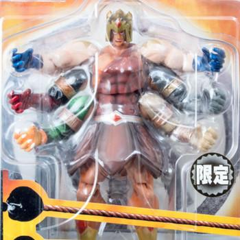 KINNIKUMAN ASHURAMAN Rokkishi Limited Ver. Romando PVC Action Figure JAPAN