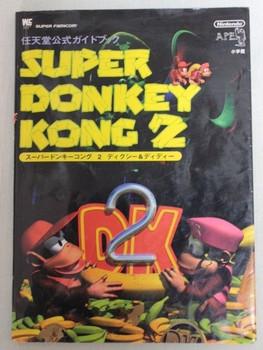 Super Donkey Kong 2 Nintendo Game Official Guide Book JAPAN SNES FAMICOM