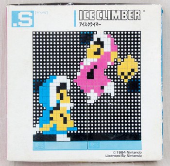 Ice Clibmer Dots .S Puzzle Pin Panel Toy Tomytec JAPAN FAMICOM NES