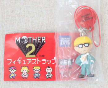 MOTHER 2 Jeff Figure Strap Nintendo Takara Tomy JAPAN GAME NES FAMICOM