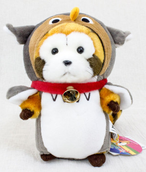 Rascal the Raccoon Cosplay Owl Hokkaido Limited Plush Doll Figure JAPAN ANIME