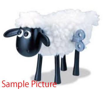 Shaun the Sheep Wind Up Shaun Figure Stop Motion Aardman Iwaya JAPAN