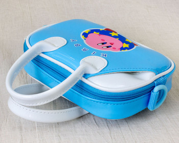 Kirby Super Star Mini Bag w/ Shoulder Strap For Nintendo DS Lite JAPAN