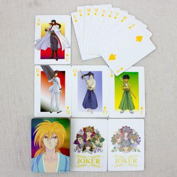 RARE! Rurouni Kenshin Trump Playing Cards JAPAN ANIME MANGA