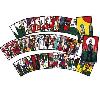 Evangelion Evafuda Hanafuda Card Game 48pc Rei Asuka Shinji JAPAN ANIME MANGA