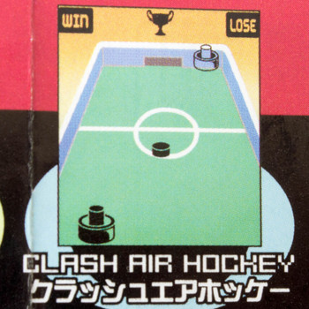 Game Center 80's CLASH AIR HOCKEY Mini Game Epoch JAPAN
