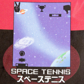 Game Center 80's SPACE TENNIS Mini Game Epoch JAPAN