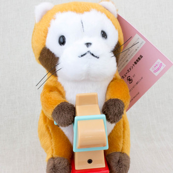 Rascal the Raccoon Light Sensor Whining & Rockig Rascal Figure JAPAN ANIME MANGA