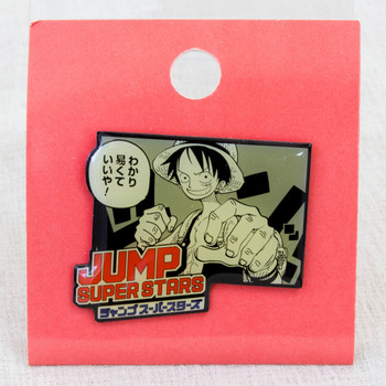 Shonen Jump Super Stars Pins ONE PIECE Luffy JAPAN ANIME MANGA