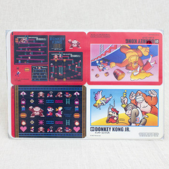 Donkey Kong Stickers Sheet Set JAPAN FAMICOM NES NINTENDO