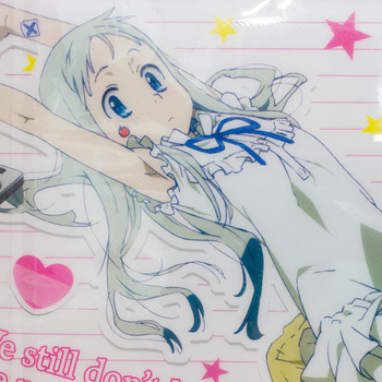 Anohana Meiko Honma Menma Document File Case Flower We Saw That Day Taito JAPAN 2