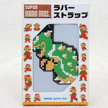 Super Mario Bros. Dot Character Rubber Strap Koopa Ver. JAPAN GAME NES NINTENDO