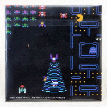 Galaga Galaxian Pac-man Game Sound Museum Namco #08 Music 8cm CD JAPAN NINTENDO