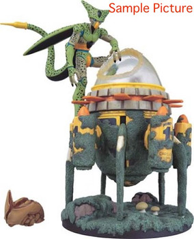 Dragon Ball Z Museum Collection Figure #12 Cell & Time Machine JAPAN ANIME MANGA