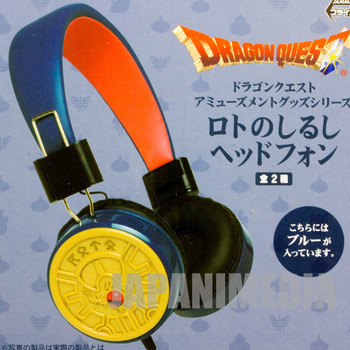Dragon Quest Brave Roto Mark Headphone Square Enix JAPAN GAME WARRIOR