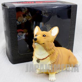 Cowboy Bebop EIN Corgi Dog Soft Vinyl Figure Fewture JAPAN ANIME MANGA