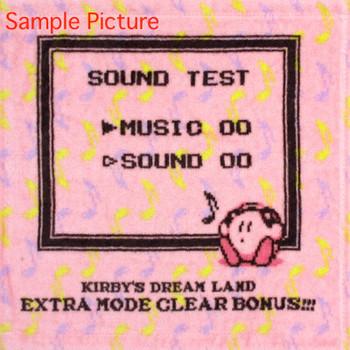 Kirby Super Star Mini Towel Sound Test Design Ver. Banpresto JAPAN GAME