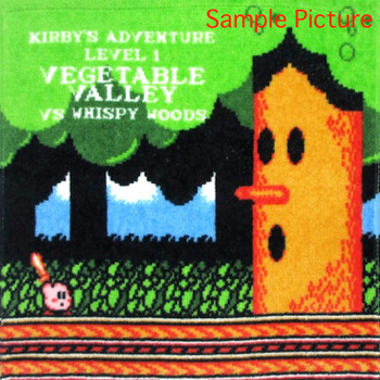 Kirby Super Star Mini Towel Whispy Woods Ver. Banpresto JAPAN GAME